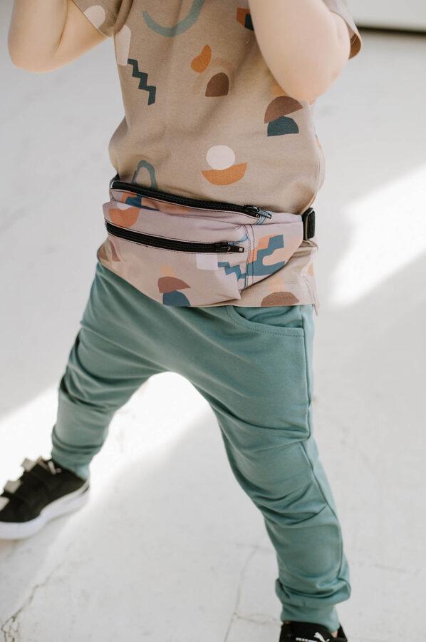 Bikses ar kabatām - Zilganas