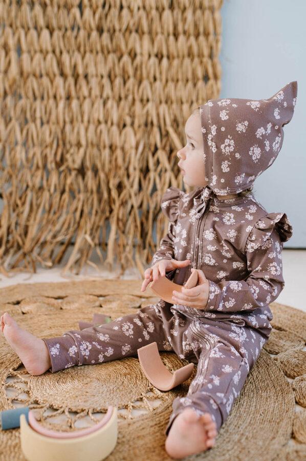 Pidžama - Ziedi / Violeta