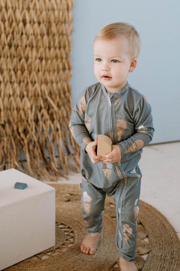Pidžama - Saldējumi / Zili