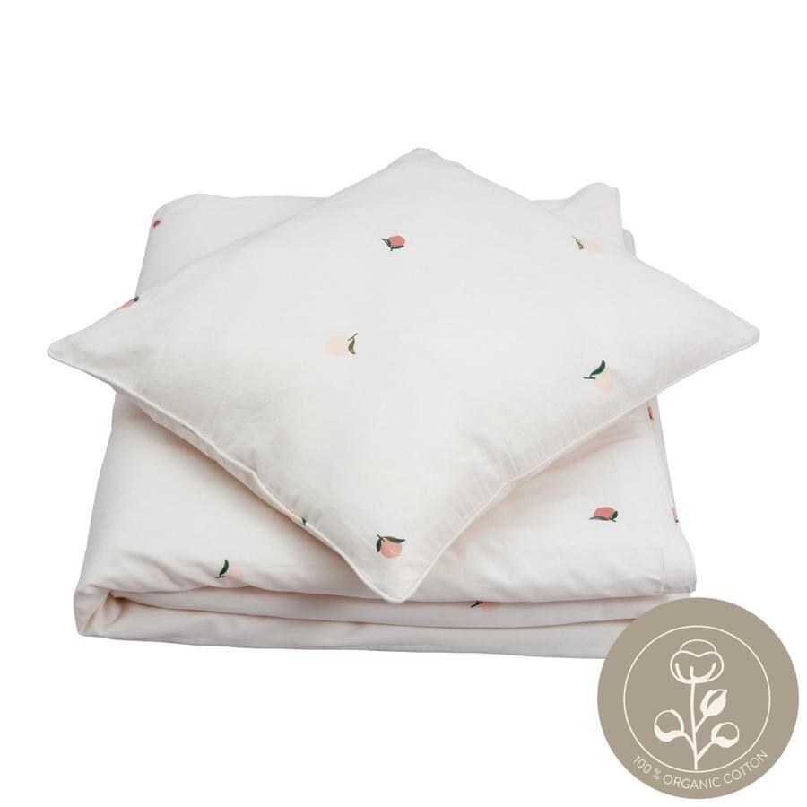 Fabelab gultas veļas komplekts - Peach 100x140 cm